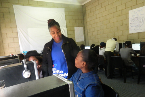 Job skills training for 1 young adult